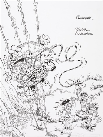 le marsupilami tome 17 for cover by batem