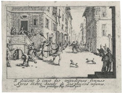 a collection of religious subjects and other works (59 works) by jacques callot