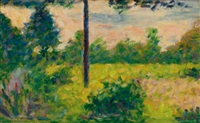 à barbizon by georges seurat