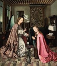 the annunciation by roger van der weyden