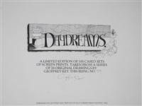 day dreams (set of 26 works) by geoffrey key