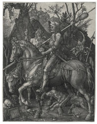 knight death and the devil by albrecht dürer