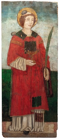 der hl diakon und märtyrer stephanus by alvise vivarini