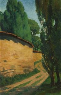 untitled (zebegény landscape) by amrita sher-gil