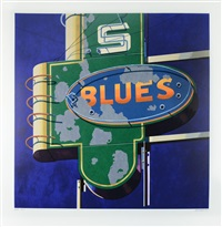 blue by robert cottingham