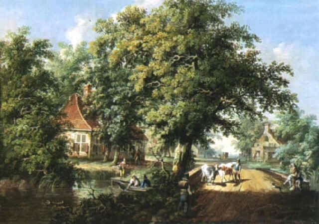 paysage animé by dv wyngaarden
