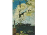 the tower crane by alfred ackrill