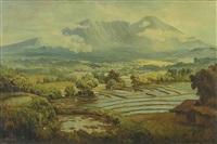 mountaneous landscape by soerjosoebroto abdullah