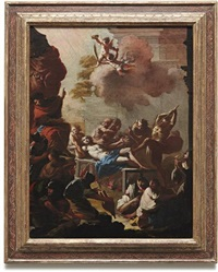 martyrdom of st. lawrence by francesco conti