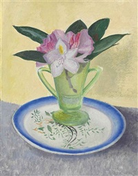still life with flowers by joseph stella