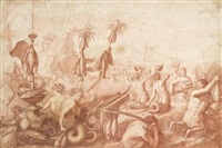 allégorie de la mer by bernard picart