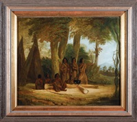 aborigines at bathurst by augustus earle
