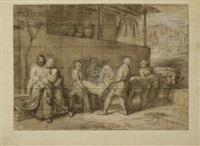 le lévite d'ephraïm (study)(+ 4 others; 5 works) by alexandre-francois caminade