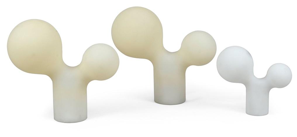 double bubble lamps set of 3 by eero aarnio