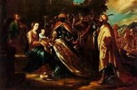 la adoración de los reyes magos by arellano