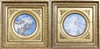 visage antique (2 works) by etienne drian