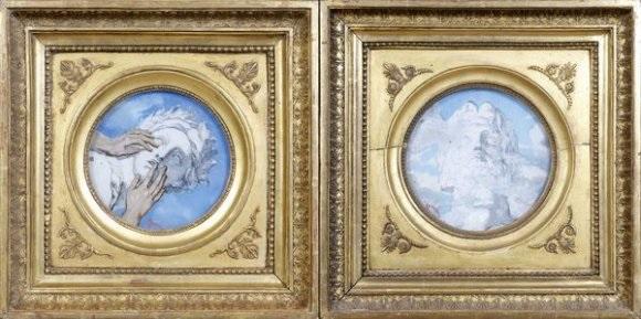visage antique 2 works by etienne drian