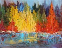 autumn burst of colour by lissi legge
