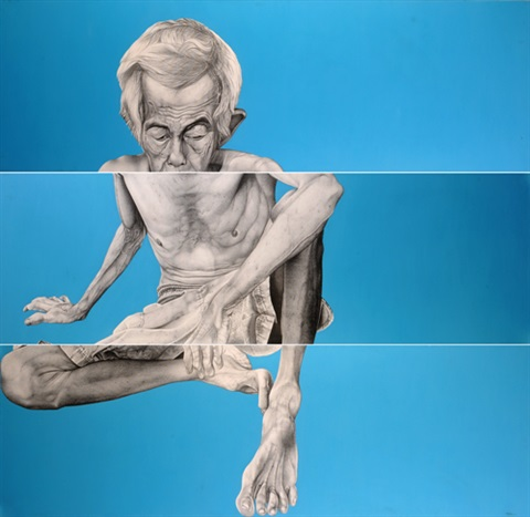 untitled triptych by dewa gede ratayoga