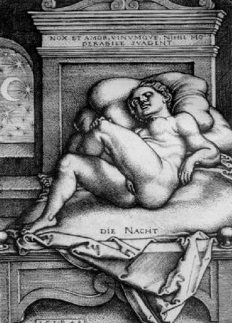 the night by hans sebald beham
