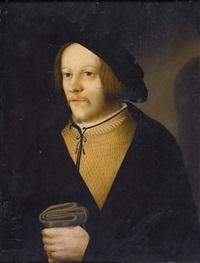 porträt eines vornehmen zürcher bürgers by hans asper