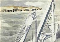 coast of spain by paul nash
