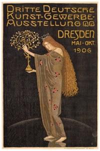dritte deutsche kunst-gewerbe-ausstellung/dresden by otto gussmann