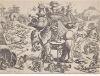 die belagerung eines elefanten by hieronymus bosch
