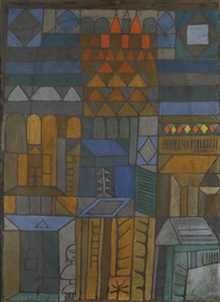 beginnende kühle (incipient coolness) by paul klee