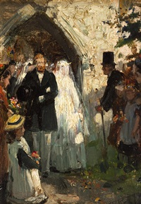the village wedding by john robertson reid