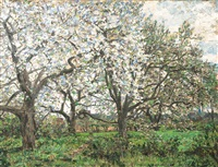 spring in the vierlande by jacob alberts