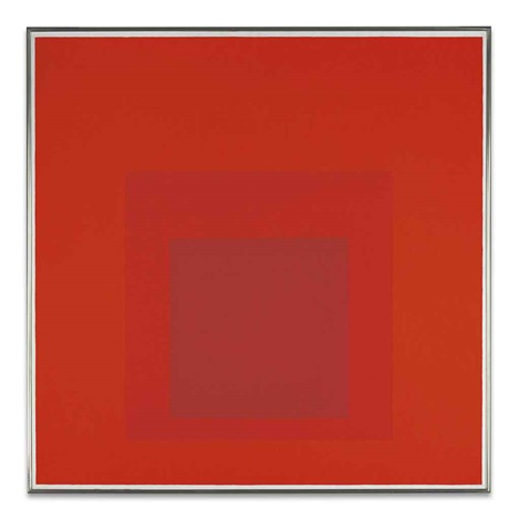 homage to the square: distant alarm by josef albers