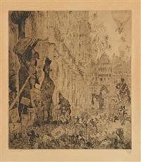 fêtes populaires à bruxelles by jules de bruycker