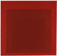 study for homage to the square, r-iii e.b. by josef albers