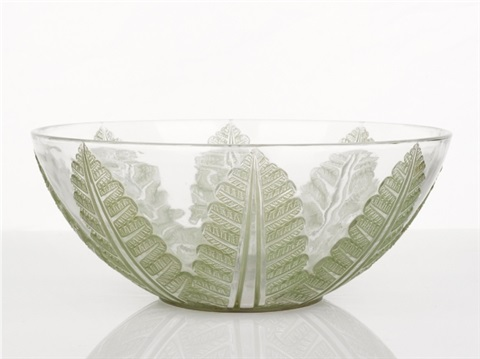 felix bowl no 389 by rené lalique