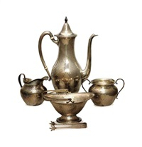coffee service (set of 4) by j.s. company