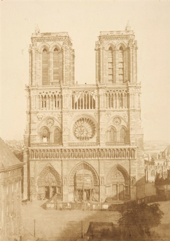 notre dame by charles nègre