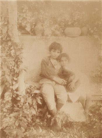 untitled (young sicilians) by baron wilhelm von gloeden