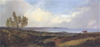 view of dublin bay from killiney by william mcevoy