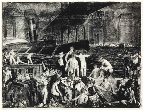splinter beach by george wesley bellows