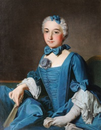 likeness of a lady by antoine pesne