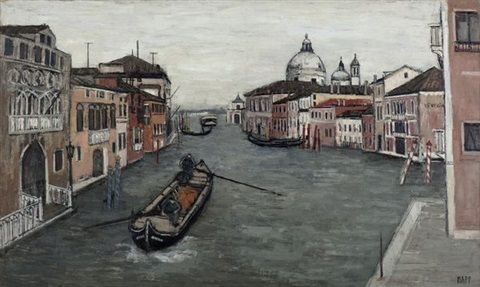venise le grand canal by ginette rapp