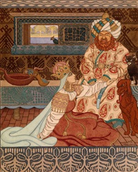the khan's bride by ivan yakovlevich bilibin