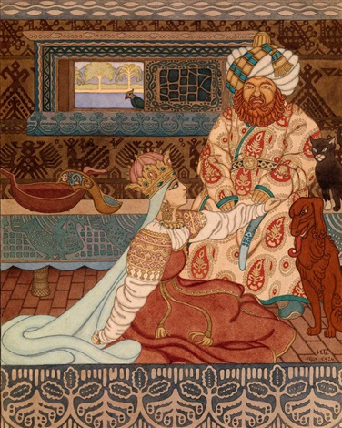 the khans bride by ivan yakovlevich bilibin