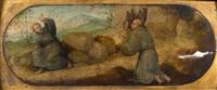 saint françois d'assise recevant les stigmates by francesco granacci
