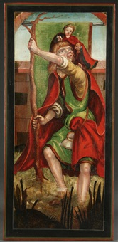 saint christopher and the infant christ by german school-swabian (16)