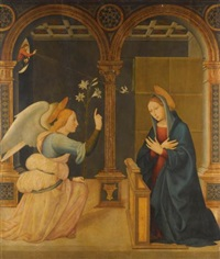 the annunciation by bernardino del signoraccio