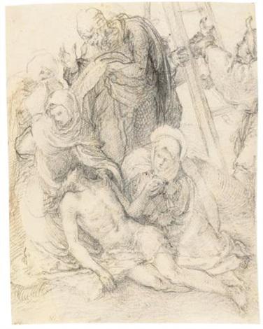 the deposition by giovanni battista di matteo naldini