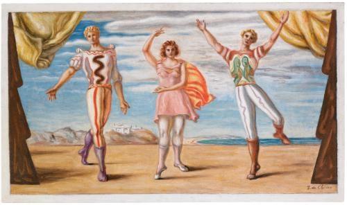 la danse by giorgio de chirico