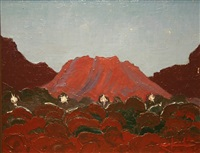 red landscape by john jobson
